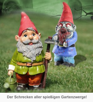 Zombie Gartenzwerg - 2