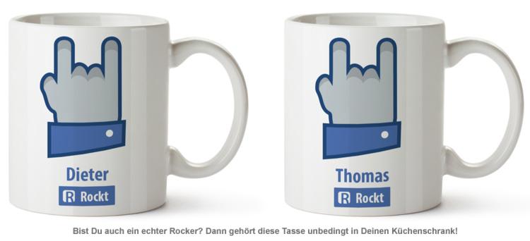 Personalisierte Tasse - Rocker - 2