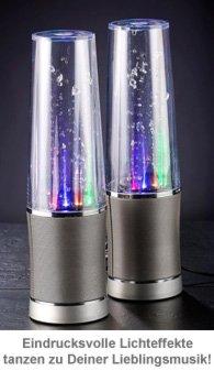 Water Beats Lautsprecher mit Lichteffekten - 3