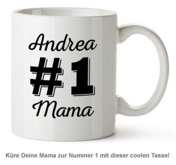 Personalisierte Tasse - Nummer 1 Mama - 2