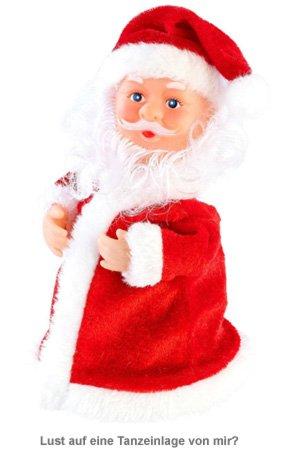 Tanzender Mini Weihnachtsmann - 2