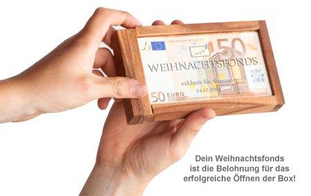 Magische Geldgeschenkbox - Weihnachtsfonds - 3
