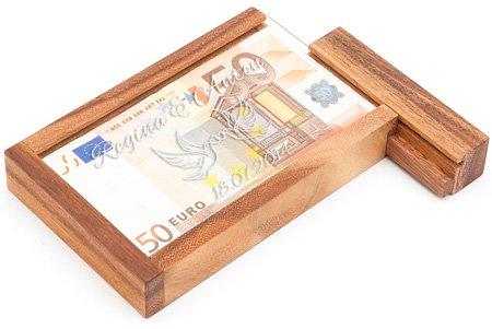 Magische Geldgeschenkbox - Liebestauben Gravur - 4