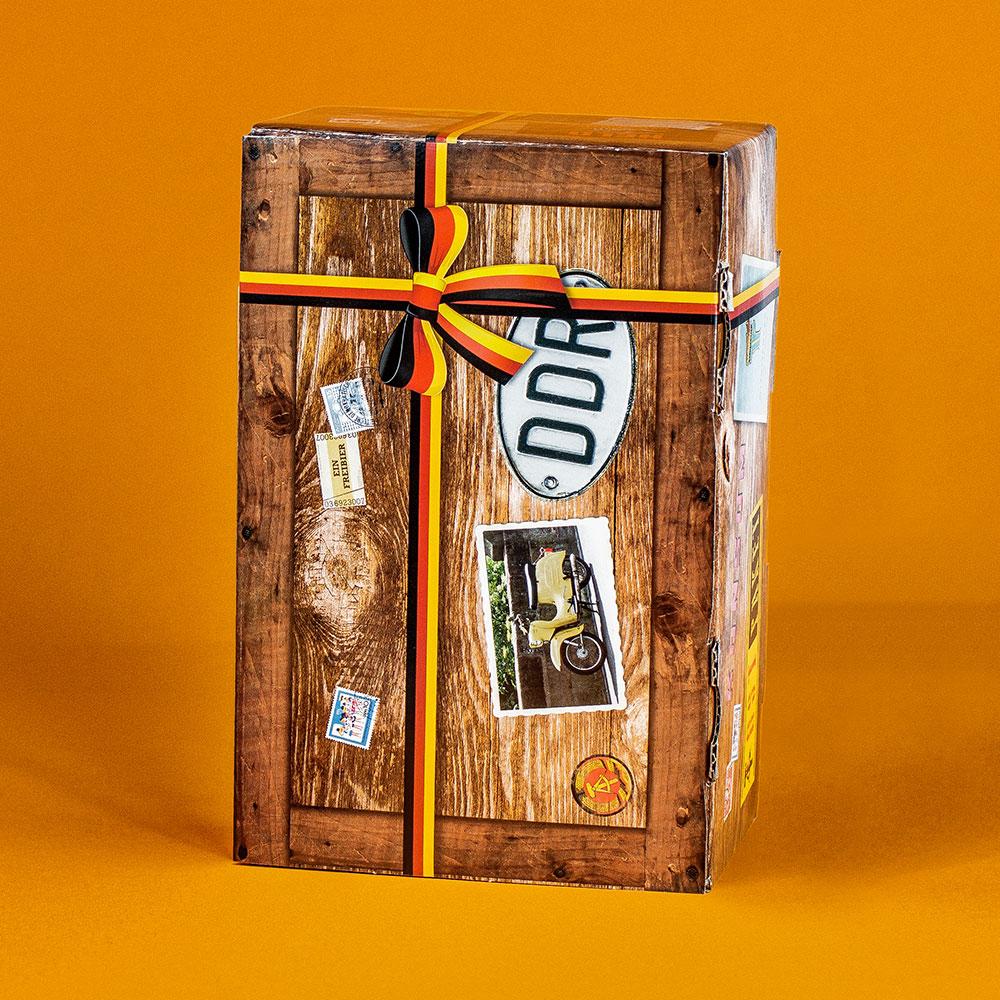 Original DDR Süßigkeiten Box - 14-teilig - 2