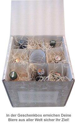 Biere aus aller Welt - Geschenkbox - 3