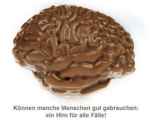 Notfall Hirn aus Schokolade - 2