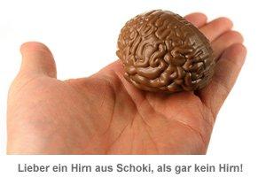 Notfall Hirn aus Schokolade - 3