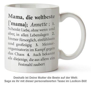 Personalisierte Tasse - Definition Weltbeste Mama - 2