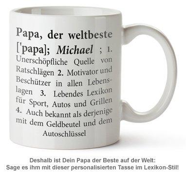 Personalisierte Tasse - Definition Weltbester Papa - 2