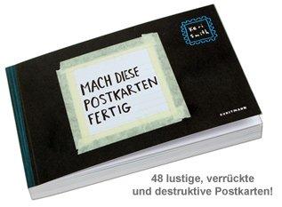 Mach diese Postkarten fertig - 3