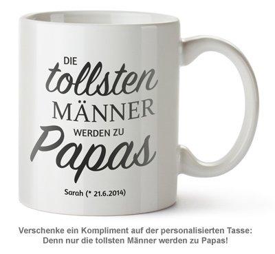 Personalisierte Tasse - Beförderung zum Papa - 2