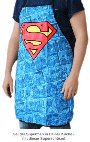 Superman Schürze - 2