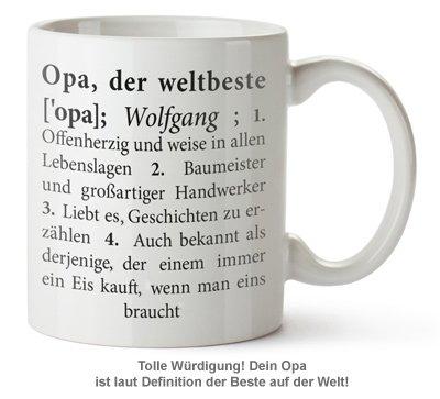 Personalisierte Tasse - Definition Weltbester Opa - 2