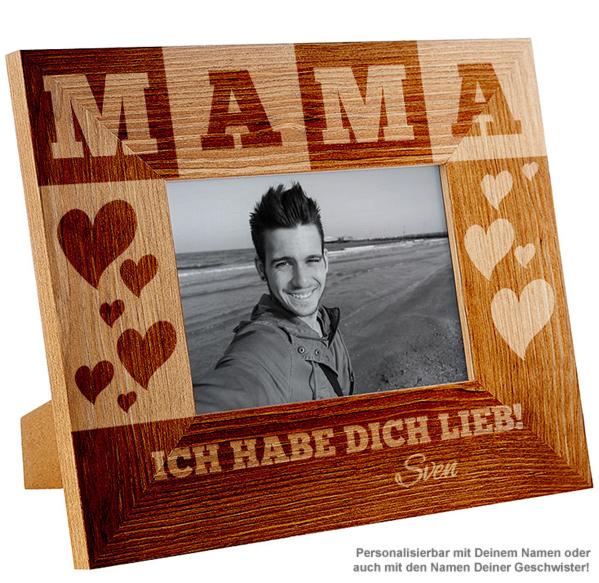 Personalisierter Bilderrahmen für Mama - 2