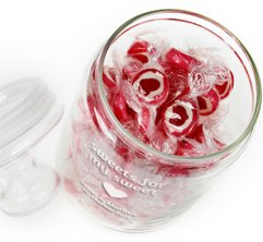 Bonbonglas mit Gravur - Sweets for my sweet - 4