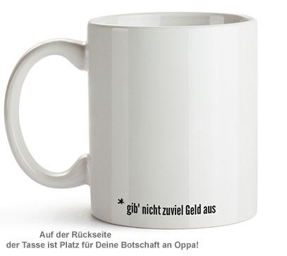 Personalisierte Tasse - Hör auf Deinen Oppa - 2