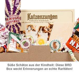 Original BRD Süßigkeiten Box - 14-teilig - 2