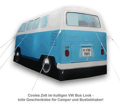Zelt - VW Campervan blau - 2