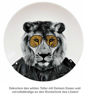 Wilder Teller - Löwe - 2