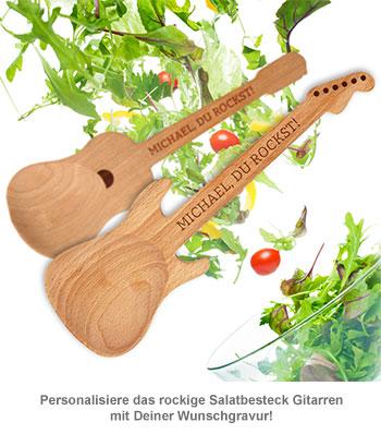 Salatbesteck Gitarren - 2