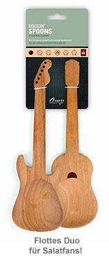 Salatbesteck Gitarren - 3