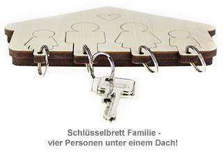 Schlüsselbrett - Familie - 3