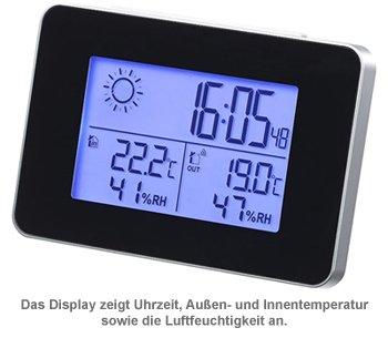 Funkwetterstation Deluxe mit Außensensor - 2