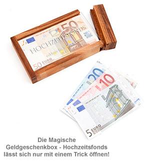 Magische Geldgeschenkbox - Hochzeitsfonds - 2