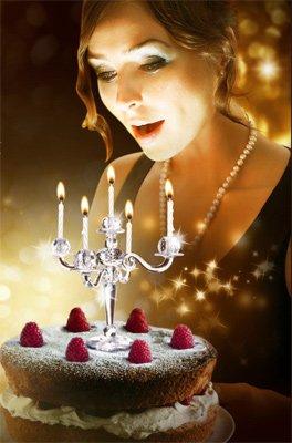 Kerzenständer für Kuchen und Torte - 2