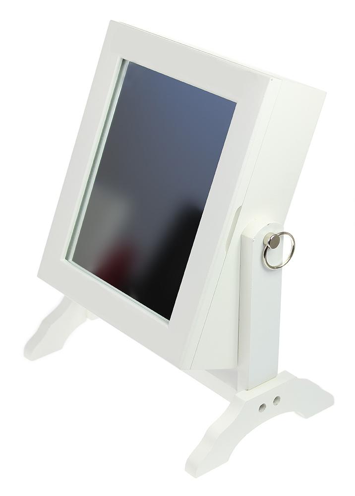 Mini Schmuckschrank mit Spiegel - 3