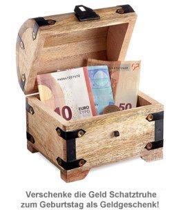 Geld Schatztruhe zum Geburtstag - 3
