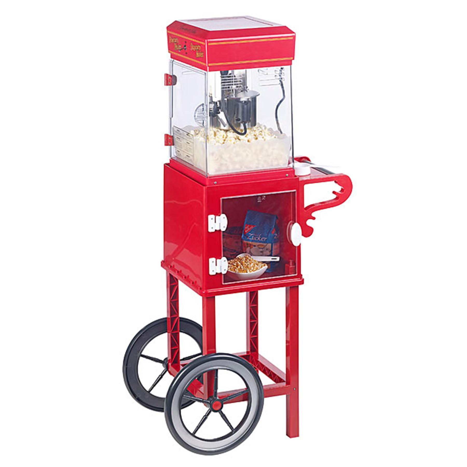Popcornmaschine mit Wagen - Premium Edition - 2