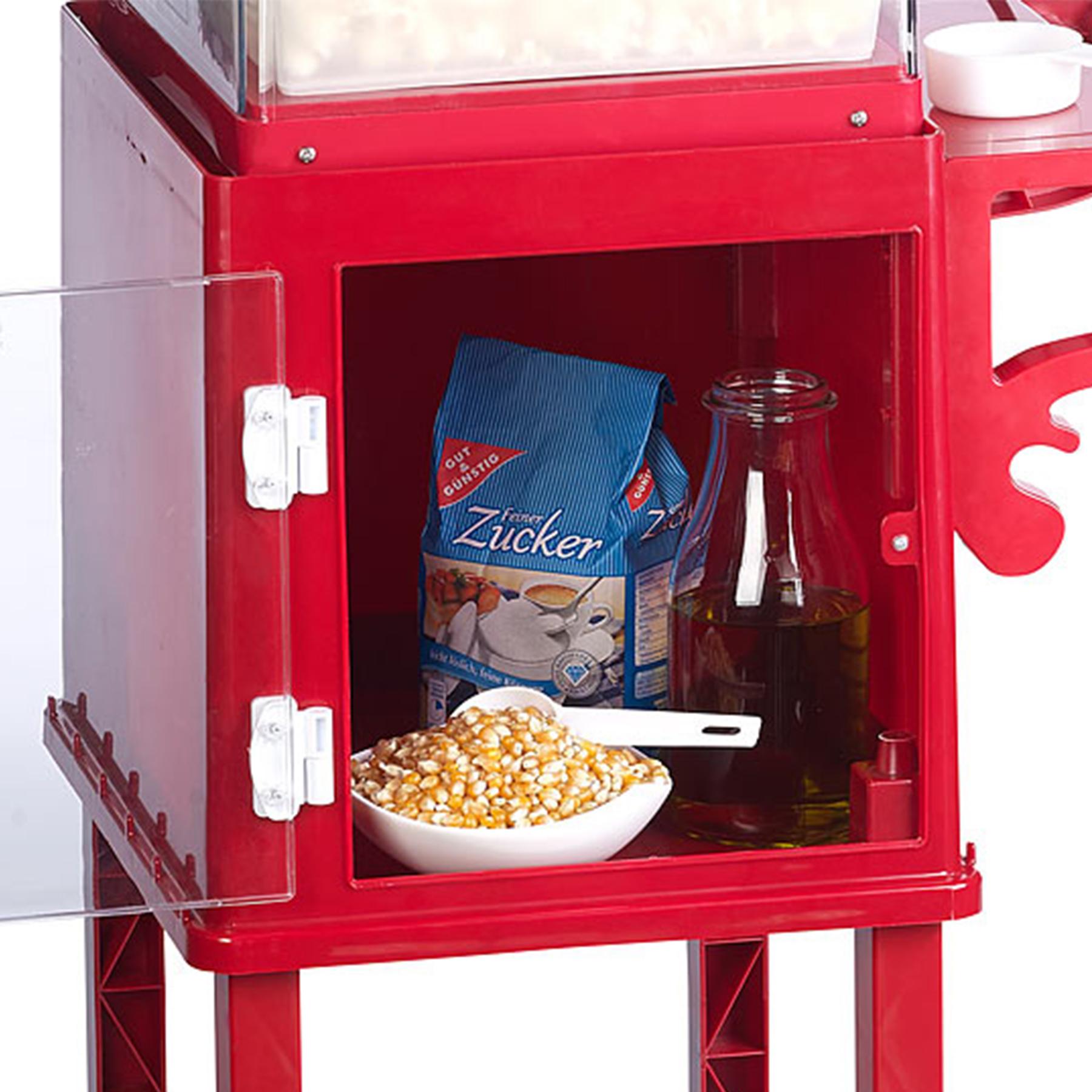 Popcornmaschine mit Wagen - Premium Edition - 3