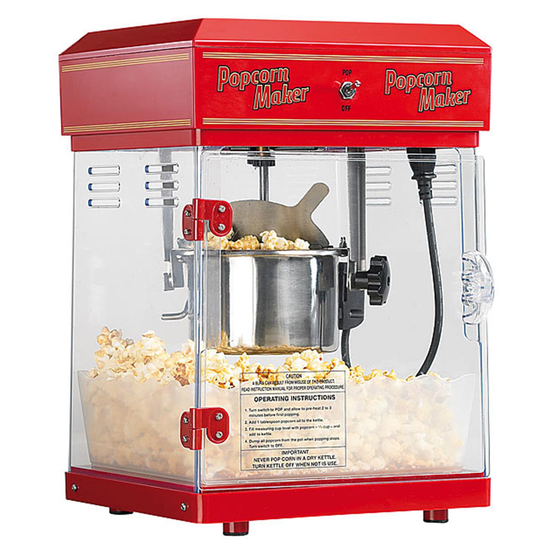 Popcornmaschine mit Wagen - Premium Edition - 5