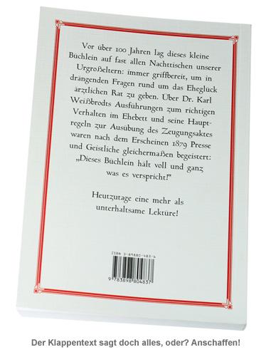 Die eheliche Pflicht - Buch und ärztlicher Führer - 2
