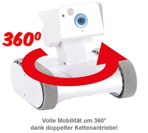 Überwachungsroboter mit Kamera - internetgesteuert - 2