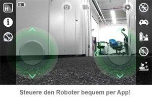 Überwachungsroboter mit Kamera - internetgesteuert - 3