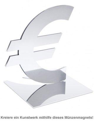 Design Münzmagnet - Euro - 2
