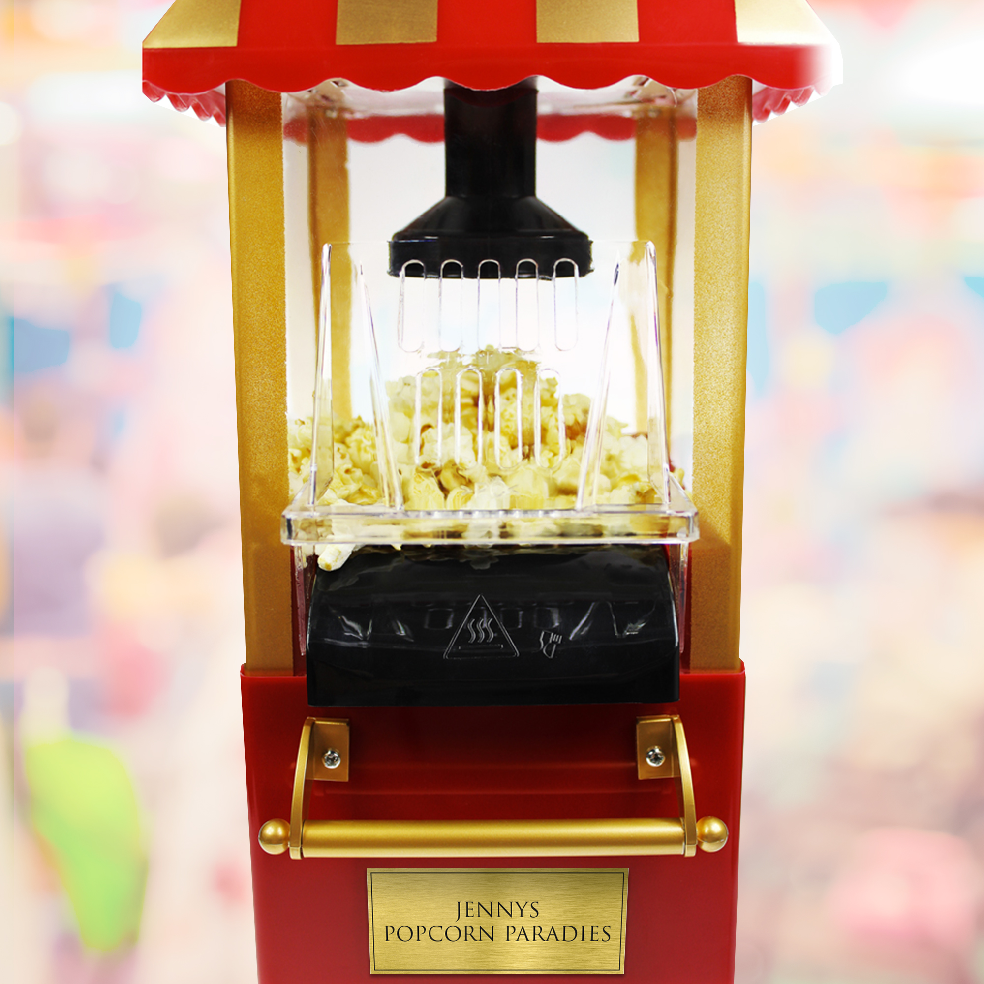 Retro Popcornmaschine mit Wagen - 2