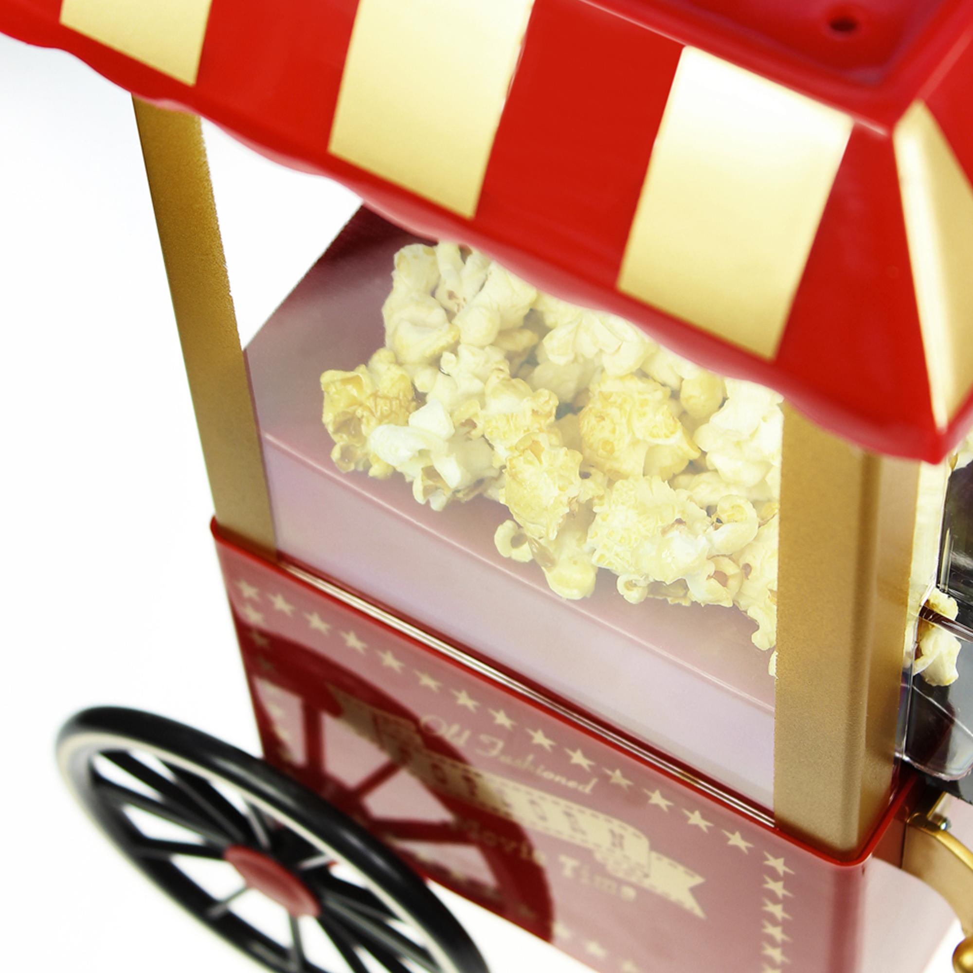 Retro Popcornmaschine mit Wagen - 3