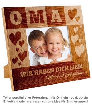Personalisierter Bilderrahmen für Oma - 2