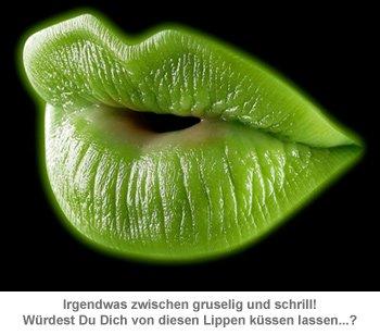 Schwarzlicht Lippenstift - fluoreszierende Farbe - 2
