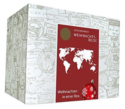 Weihnachtsbox - Weihnachtliche Weltreise Geschenkbox - 3