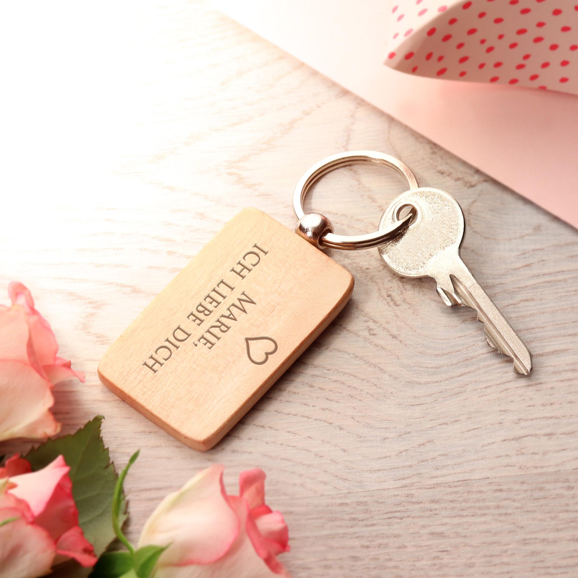Schlüsselanhänger Kalender mit Gravur - 2