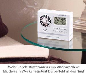 Wecker mit Aroma Diffuser und Naturklängen - 2