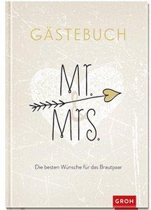 Gästebuch zur Hochzeit - Mr and Mrs - 3