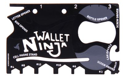 Multifunktionswerkzeug 18in1 - Wallet Ninja - 4
