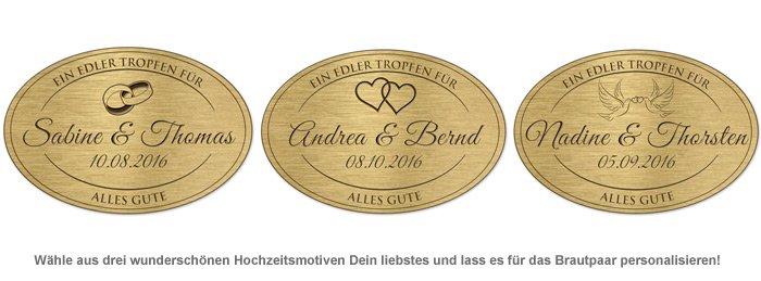 Holzfass mit Gravur Plakette zur Hochzeit - 2