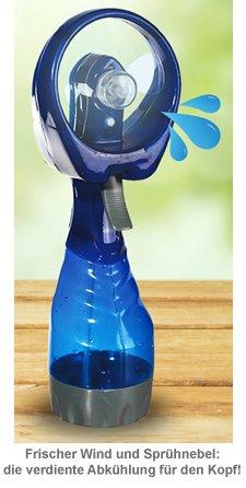 Ventilator mit Sprühflasche - 2