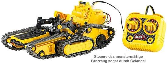 Ferngesteuertes 3in1 Kettenfahrzeug - Roboter Bausatz - 4